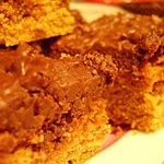 Sweet treats for work: Chocolate Peanut Butter Squares