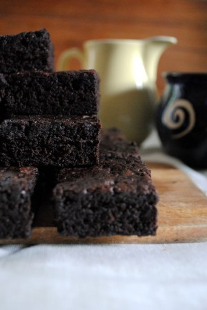 Bibliocook.com - Caroline's Birthday Brownies