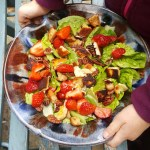 Read: Growing and cooking with kids + Strawberry halloumi salad