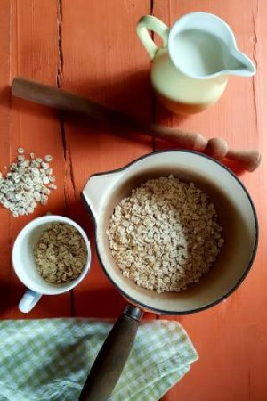 BIbliocook.com - Porridge oats for breakfast