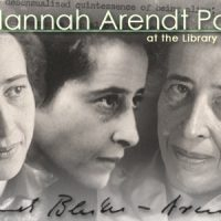 Hannah Arendt Papers at the Library of Congress: lettere e manoscritti di Hannah Arendt