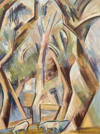 André Lhote, Les arbres à Avignon, 1913, © Musée Malraux, Le Havre