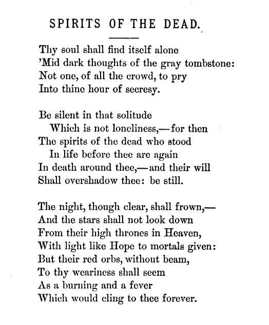 Spirits Of The Dead Edgar Allan Poe Biblioklept