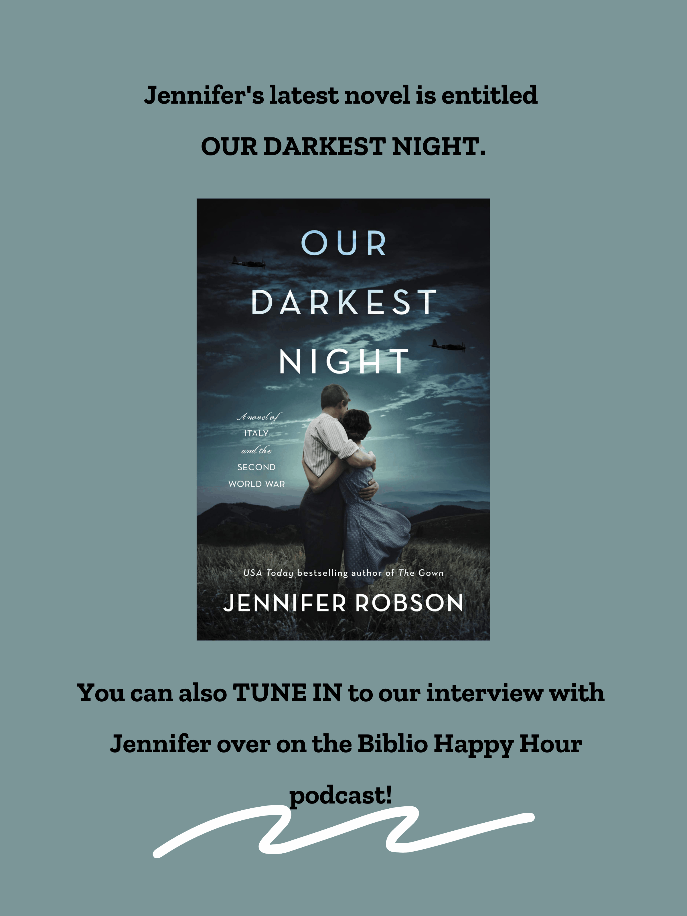 Our Darkest Night by Jennifer Robson