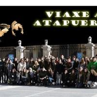 VIAXE  A  ATAPUERCA - Alumnos/as de 1º de BAC