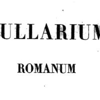 Magnum Bullarium Romanum: online l'imponente opera di L. Tomassetti