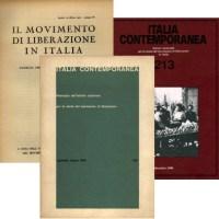 Italia contemporanea: periodico INSMLI online