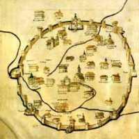 Mappe storiche di città in linea