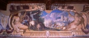 Sala delle battaglie-Trionfetto e scene di genere