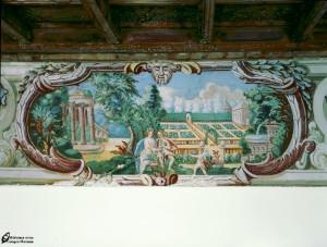 Sala degli dei e degli eroi-Venere e Adone uniti da Amore