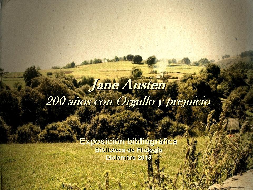 Exposición Jane Austen