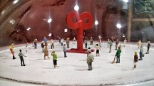 Detalle de la exposición Dale cuerda al mundo