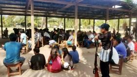 Reunión con la Comunidad Asháninka.