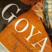 Catálogo de la exposición sobre Goya en su 250 aniversario