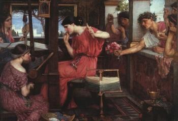Penélope de John William Waterhouse