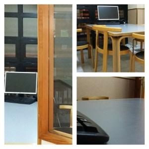 Sala de trabajo en CCSSJJ