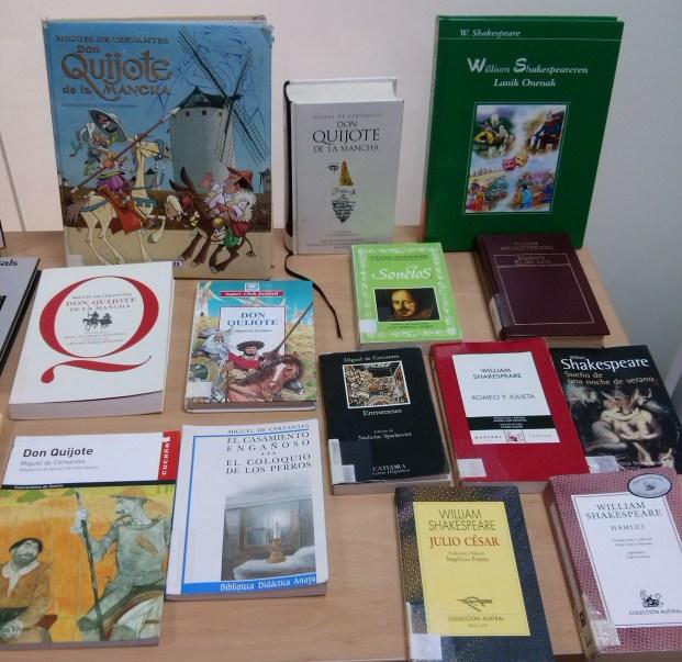 Cervantes y Shakespeare, de la mano