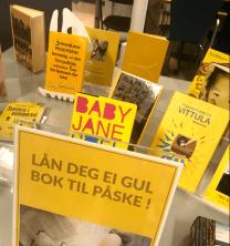 gult påske fjell bibliotek