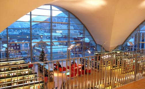 Tromsø bibliotek BTS