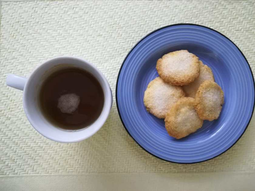 biscotti di farina di riso e cocco