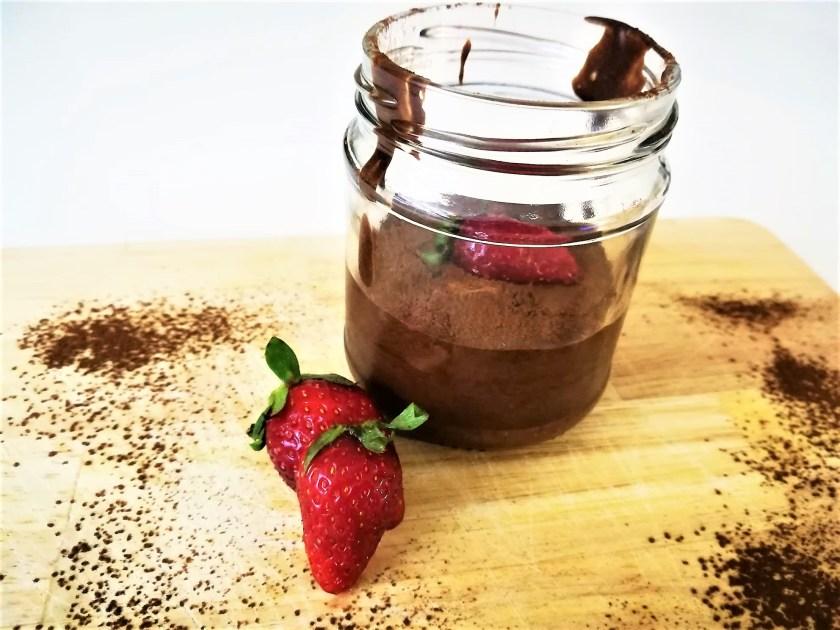 Mousse cioccolato e tè ai frutti rossi 2