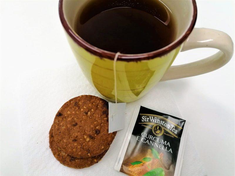 tè nero curcuma e cannella Sir Winston Tea