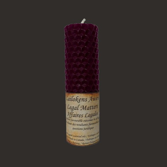 LEGAL MATTERS SPELL CANDLE