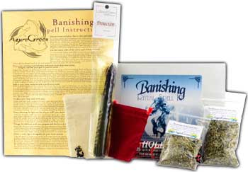 RBKBAN- Banishing ritual kit