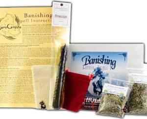 RBKBAN- Banishing ritual kit