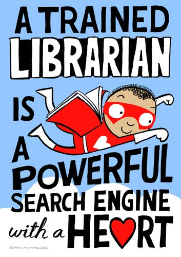 Super Librarian - Poster