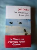 Les derniers jours de nos pères - Joël DICKER
