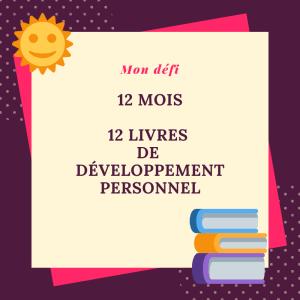 12 livres développement personnel