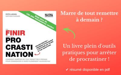 Comment lutter contre la procrastination ? Un livre qui nous y aide