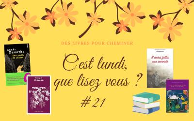 C'est lundi, que lisez-vous ? #21