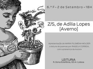 Lançamento de livro de Adília Lopes