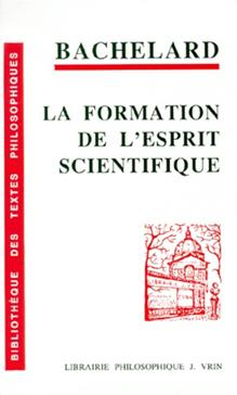 Gaston Bachelard La Formation De L'esprit Scientifique : gaston, bachelard, formation, l'esprit, scientifique, Detail