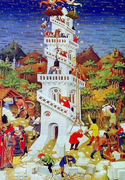 La Tour De Babel Livre : babel, livre, Livre, Genèse, Babel