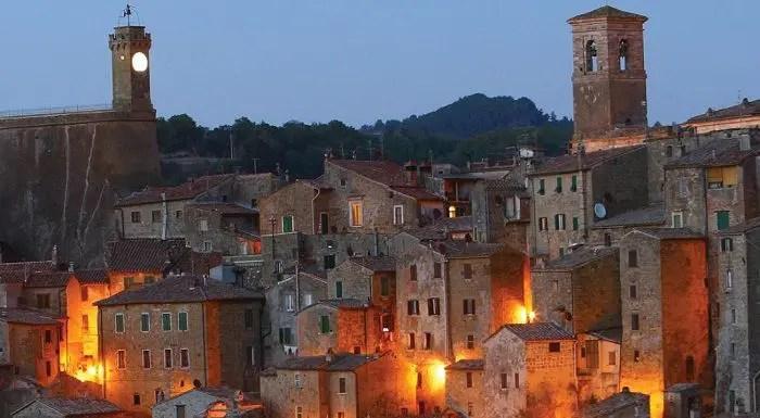Sorano Grosseto la Matera della Toscana  BibLusnet