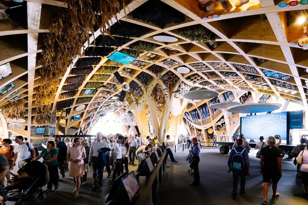 Expo 2015 architettura il padiglione della Francia