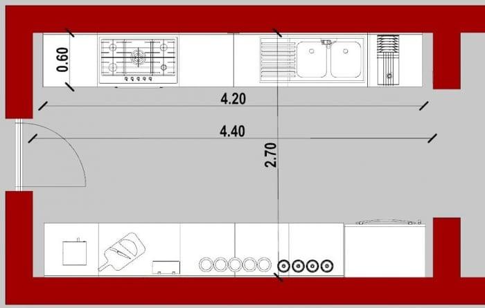 plans d une cuisine