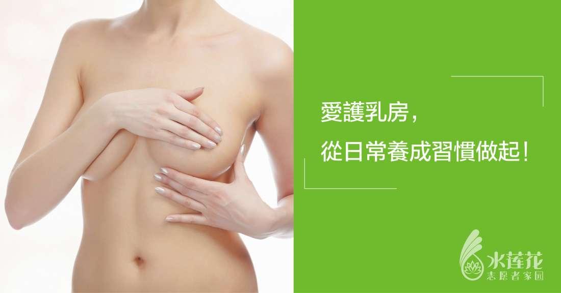 愛護乳房從日常做起