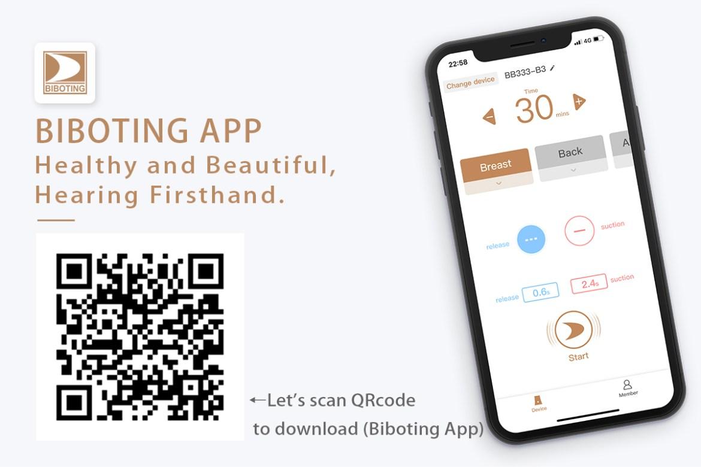 biboting app QRcode