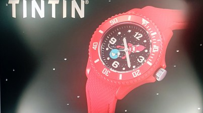 Nouvelle gamme montre Tintin