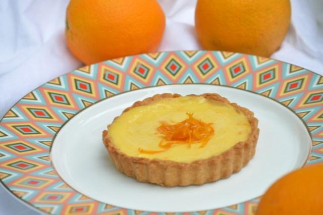 tarte a l'orange
