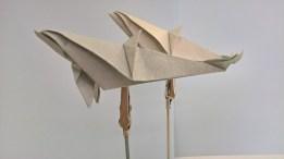 Origami dauphin