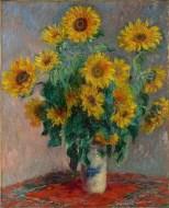 Claude Monet- Bouquet of Sunflowers (1881)