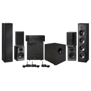 "BIC Venturi DV64-WIRELESS 12"" System - 2000W 7.2 Home Theater System"