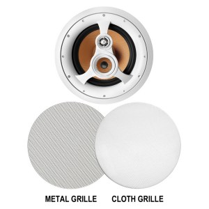 "Acoustech H310C - 250W 3-Way 10"" Woven Fiber In-Ceiling Speaker"