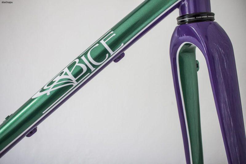 CROCE CX Custom Steel Cyclocross Gravel Bike Frame