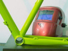 gravel bice bicycles handmade bespoke tig mask